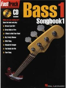 FastTrack Music Instruction BASS 1 Songbook  1 - avec CD