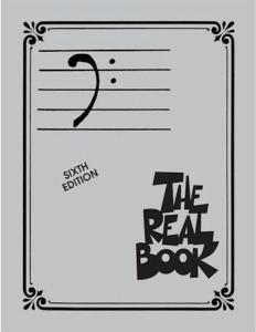 REAL BOOK Bass Clef vol1 - Sixth Edition, en clef de Fa