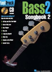 FastTrack Music Instruction BASS 2 Songbook  2 - avec CD