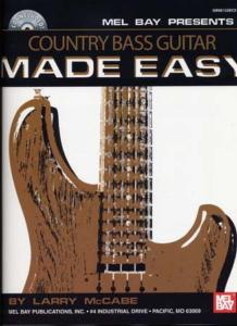 McCABE Larry - Country Bass Guitar MADE EASY, avec CD