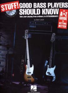 LETSCH Glenn - Stuff ! Good Bass Players Should Know, avec CD