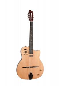Guitare Jazz GODIN Multiac Gypsy Jazz 10 + Etui