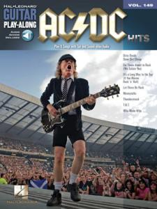 "AC DC - Hits, ""Guitar Play-Along"" vol.149, audio access included"