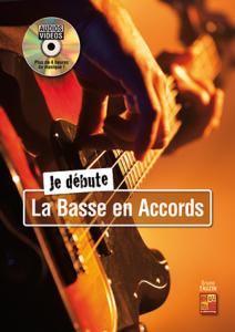 TAUZIN Bruno - Je débute la Basse en Accords, avec DVD