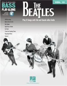 THE BEATLES BASS - PLAY-ALONG vol.13, avec audio access included, for bass