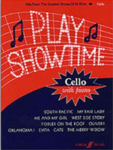 PLAY SHOWTIME Cello with piano - 10 titres