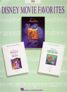 Disney Movie Favorites, CELLO - 16 partitions pour violoncelle