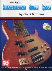 MATHEOS Chris - PERCUSSIVE SLAP BASS, avec CD