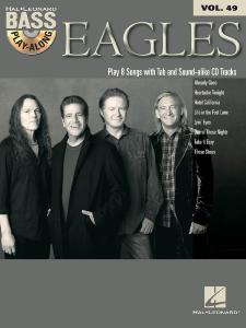 BASS PALY-ALONG - EAGLES vol.49, CD inclus