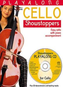 PLAYALONG CELLO Showstoppers - easy cello with piano accompaniment, avec CD