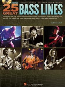 25 GREAT BASS LINES - by Glenn Letsch, CD