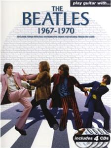 PLAY GUITAR with... THE BEATLES 1967-1970 - avec 4 CD