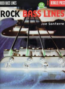 SANTERRE Joe - Rock Bass Lines, Bass Tab avec CD