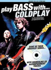 PLAY BASS with COLDPLAY - bass tab, avec CD