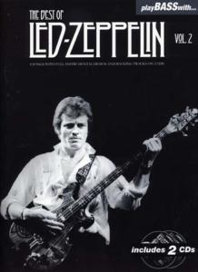 PLAY BASS With LED ZEPPELIN The Best Of vol.2 - bass Tab, avec 2 CD