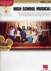 DISNEY HIGHT SCHOOL MUSICAL, CELLO - pour Violoncelle, avec CD