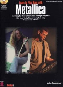 METALLICA - Learn to play bass with METALLICA, Bass Tab avec CD